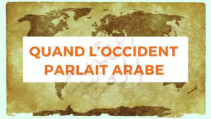 image carte du monde quand l'occident parlait arabe